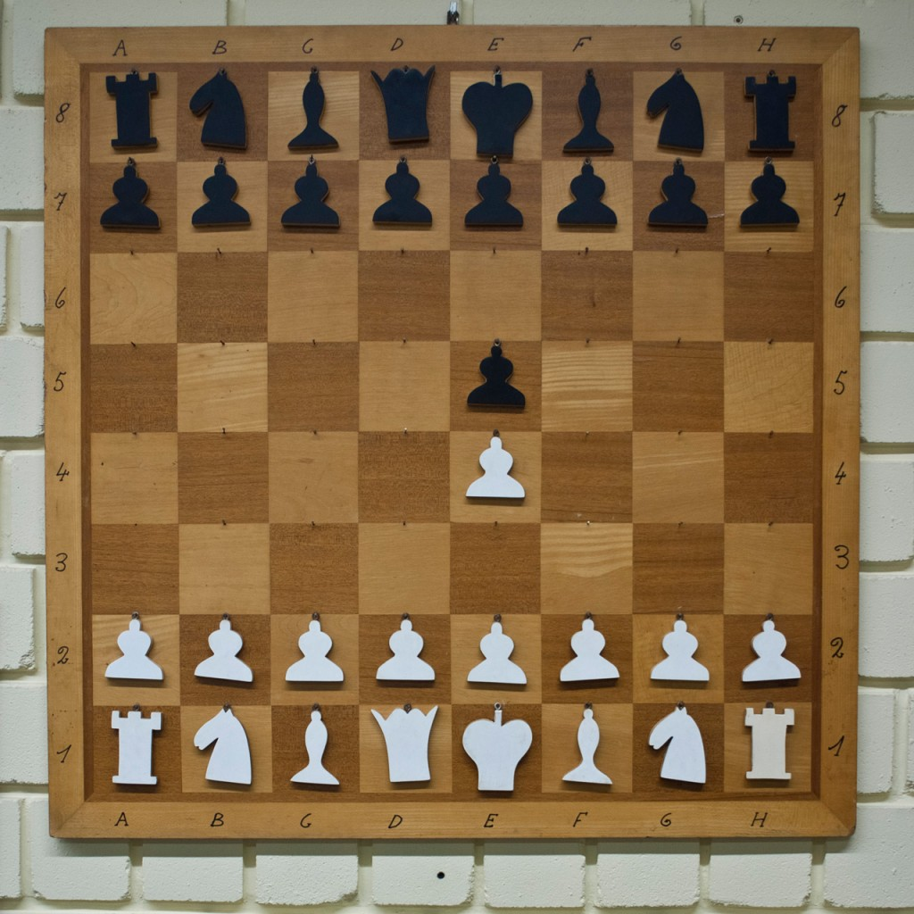Demo chess board